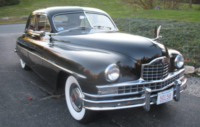 1950 Packard service and repair
